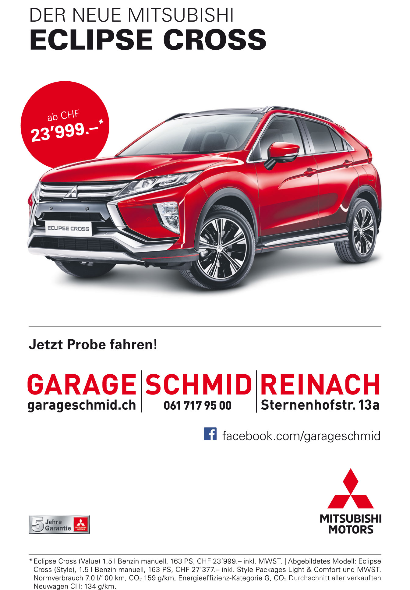 Mitsubishi Eclipse Cross facebook Kopie