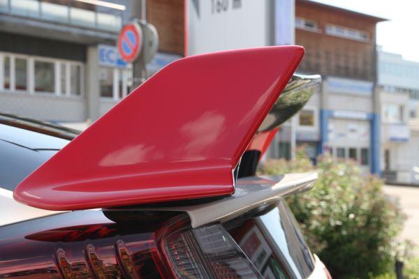 Carbon Heckflügel Rally Red